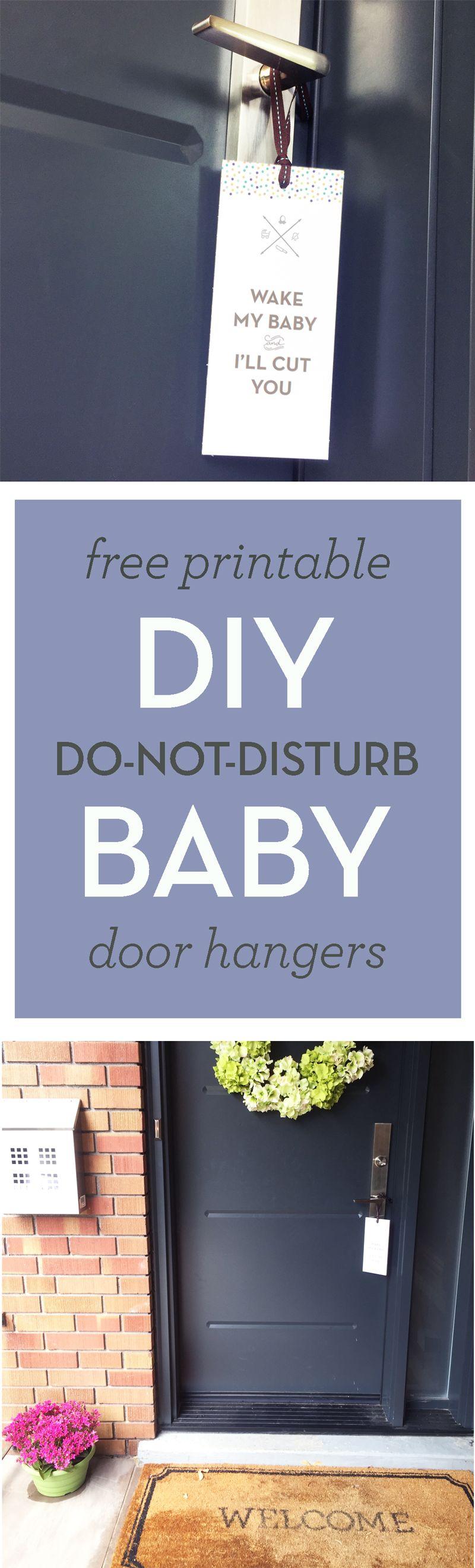funny do not disturb baby door hangers pinterest hanger free