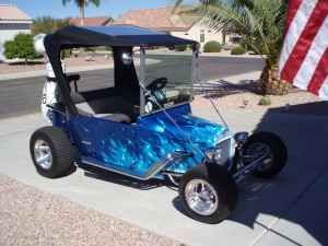 This TBucket Electric Golf Cart is the Real Deal