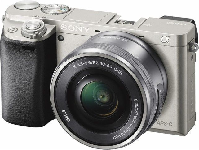 Sony Alpha A6000 Mirrorless Camera With 16 50mm Retractable Lens Silver Ilce6000l S Best Buy Mirrorless Camera System Camera Sony Camera