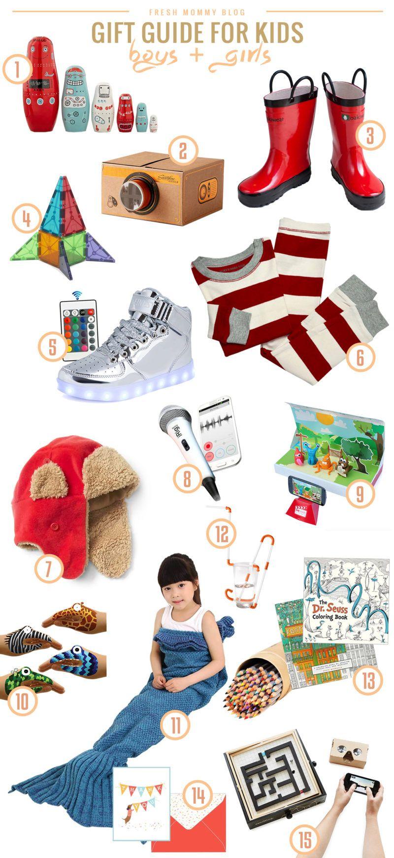 Kids Gift Guide | Weihnachtliche Geschenkideen | Pinterest ...