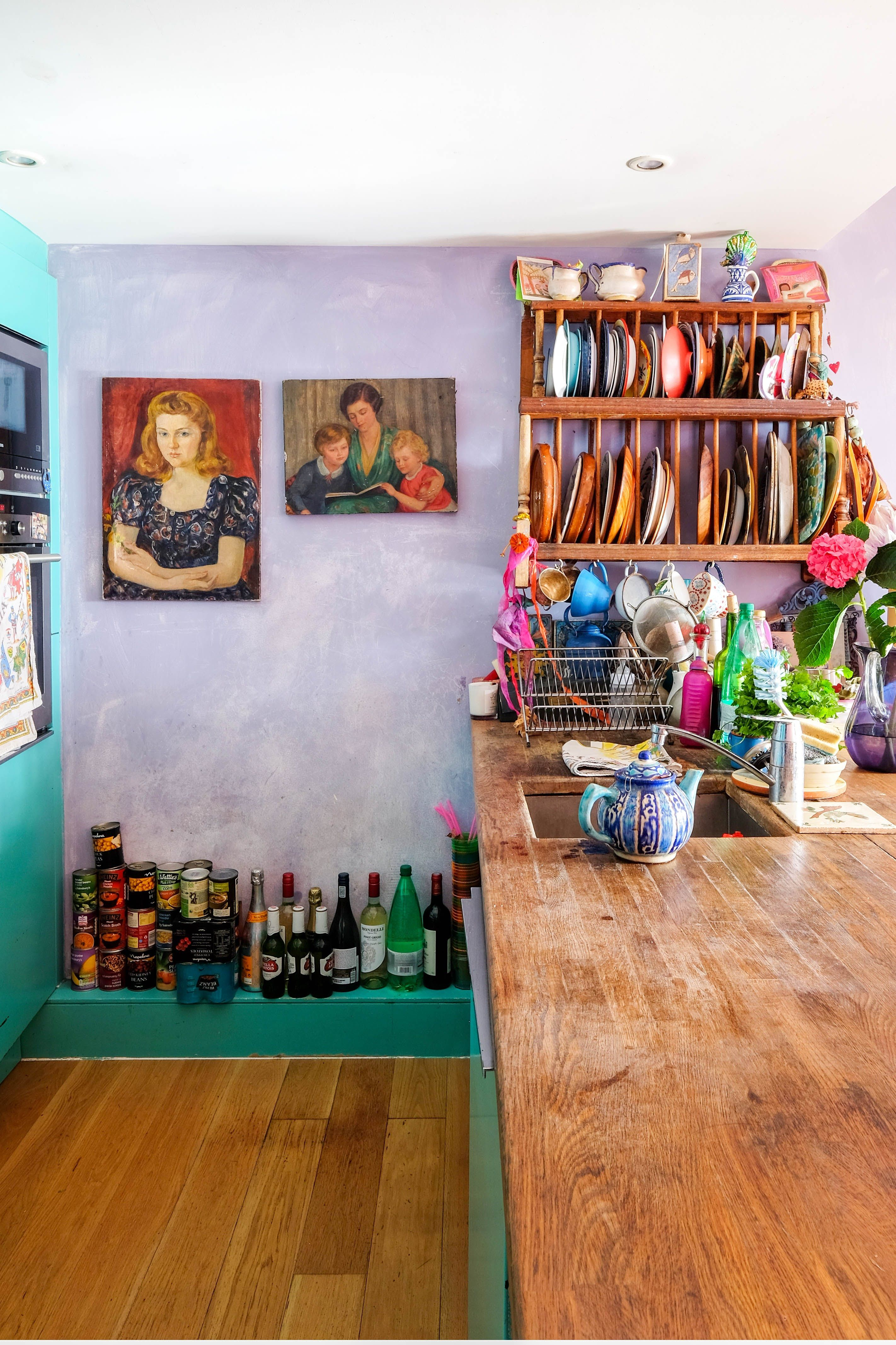 Tour Jewelry Designer Pippa Small S Colorful London Home  # Neat Muebles Merida