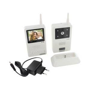 Visiophone sans fil avec interphone