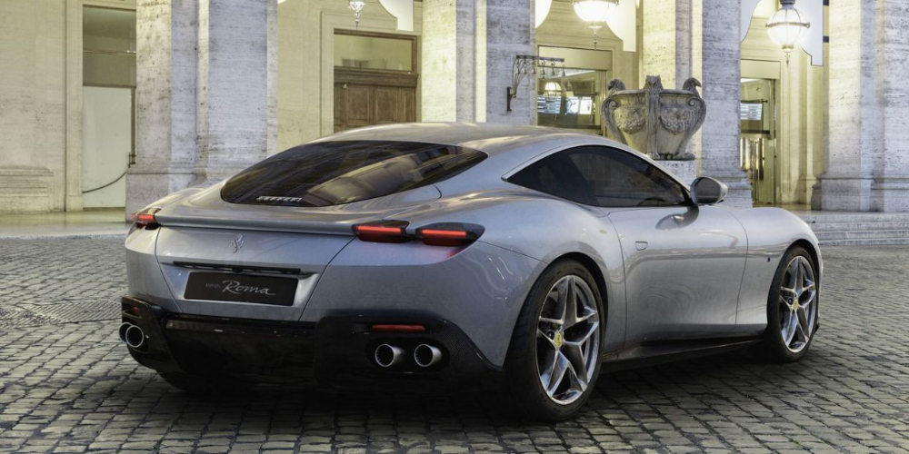 First Look at New Ferrari Roma Coupe That's an Instant