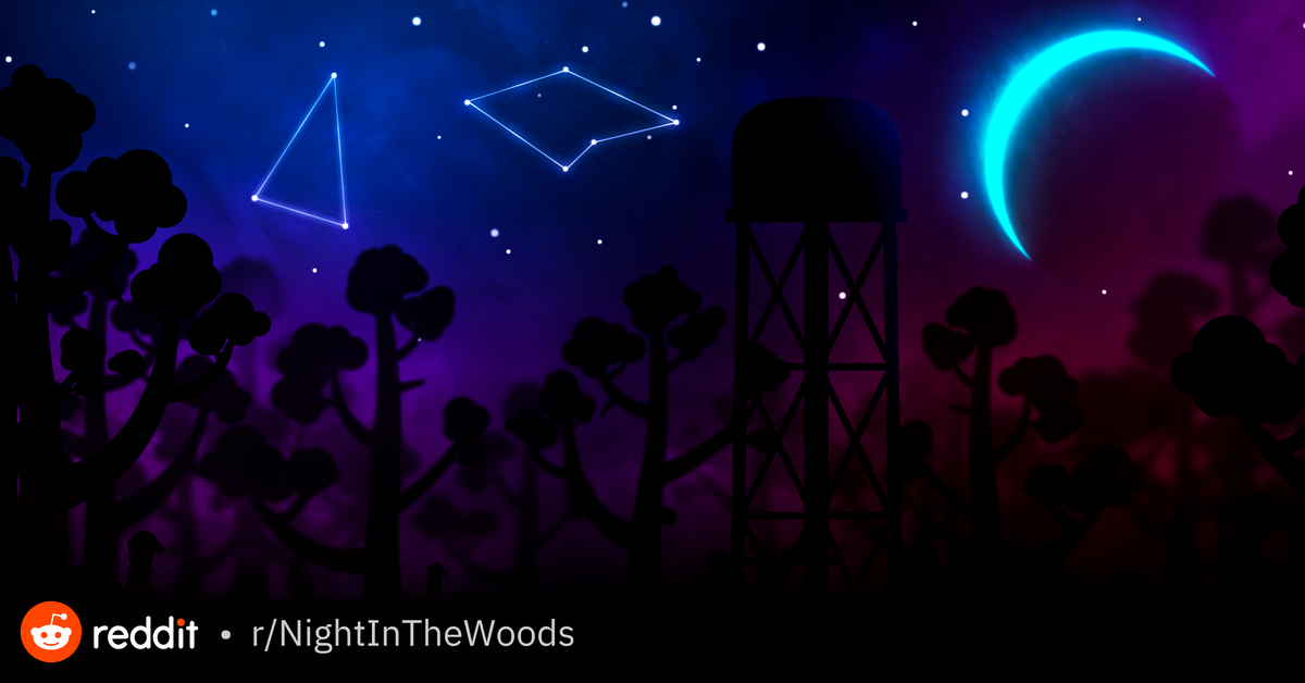 After Many Failed Attempts I Present My First Nitw Desktop Wallpaper Based On The Car Traveling Scenes Nightint In 2020 Night In The Wood Desktop Wallpaper Wallpaper