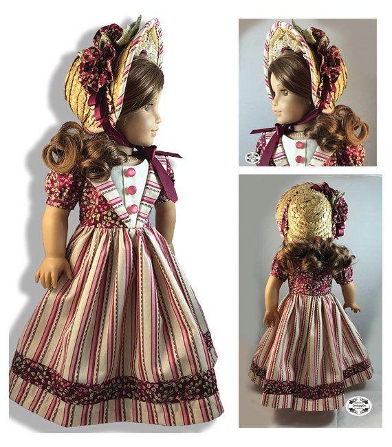 Stand By Me Civil War Doll Dress PDF von CrabapplesBoutique
