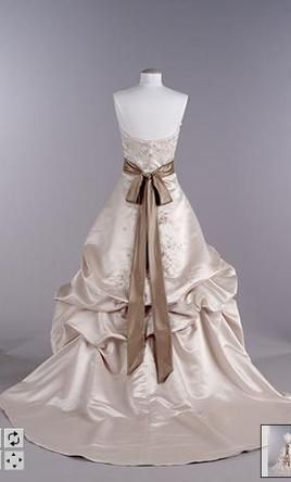 Oleg Cassini Ct203 Wedding Dress New Size 4 280 Davids Bridal Wedding Dresses Wedding Dresses Colored Wedding Dress