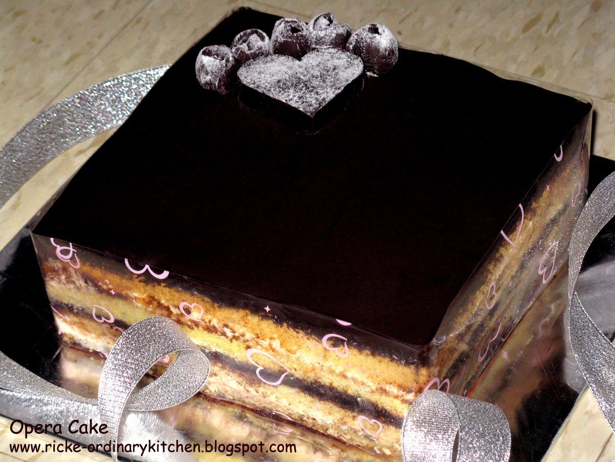 Bbc Food Recipes Opera Cake A Joconde Sponge Is Decorative Almond
