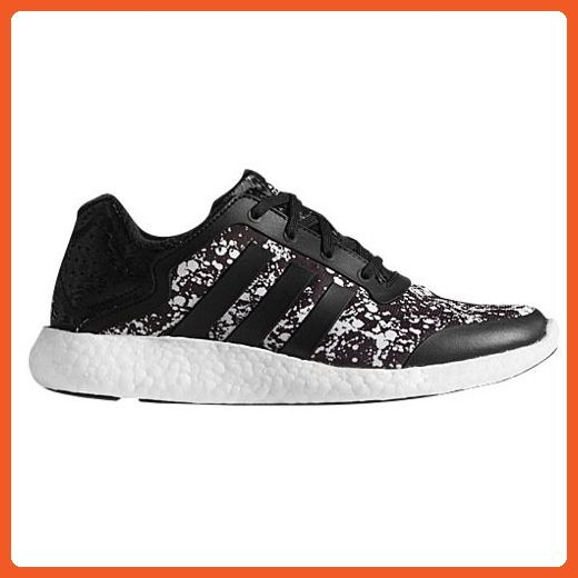 2228dbb097c8a Adidas Women s Pure-Boost Q4 Black White Print Running Shoes M21408 size 9  - Athletic shoes for women ( Amazon Partner-Link)