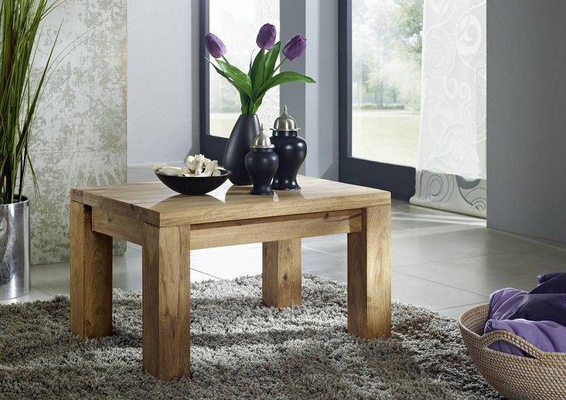 Palisander Massivholz Couchtisch Sheesham Möbel NATURE BROWN #110 - mobel braun wohnzimmer