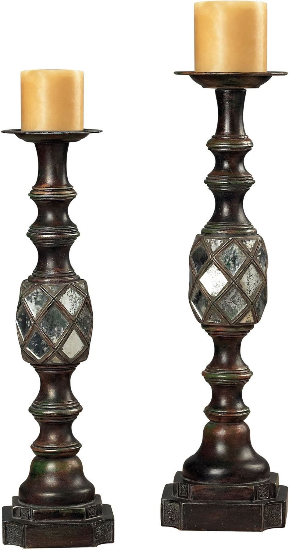 Mirrored candle holders products pinterest products