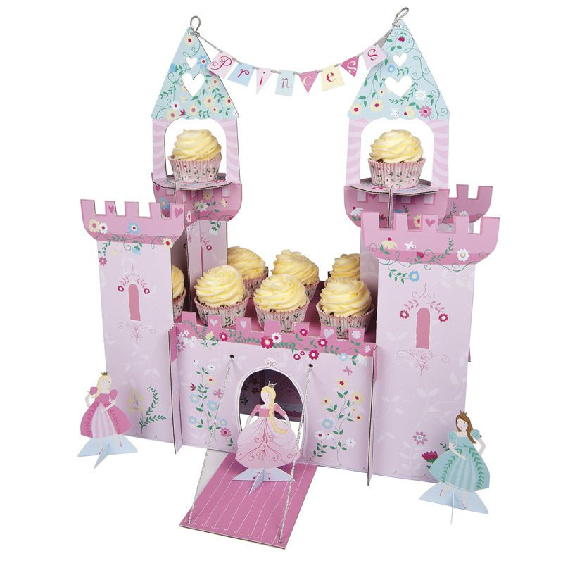 Meri Meri Tischdekoration Centerpiece Prinzessinnengeburtstag - Bonuspunkte sammeln, Kauf auf Rechnung, DHL Blitzlieferung!