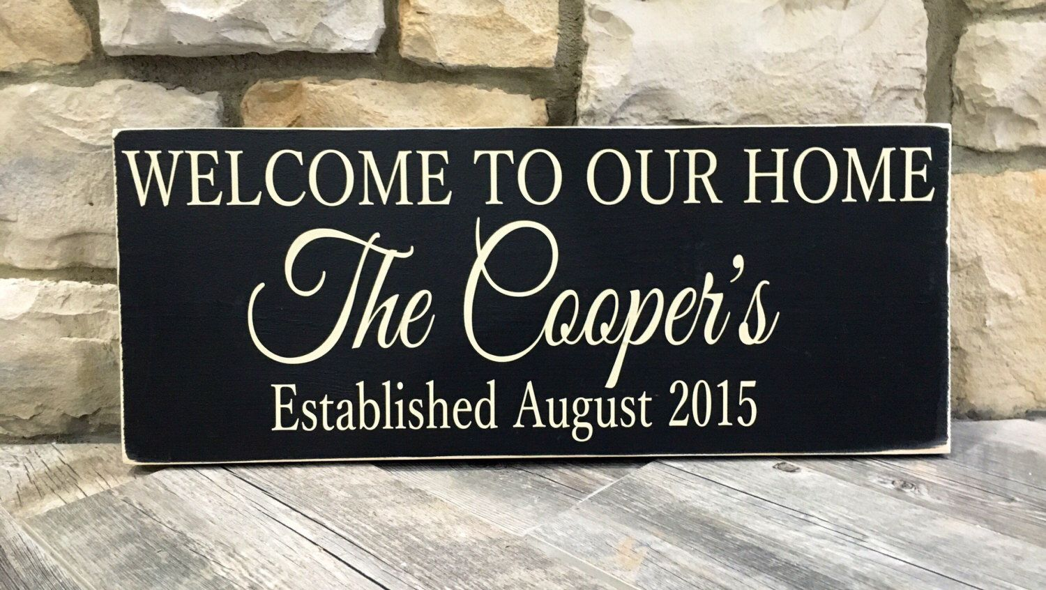 looking for the perfect christmas gift i love to make custom signs check out my etsy shop parents gift family gift house warming gift custom family