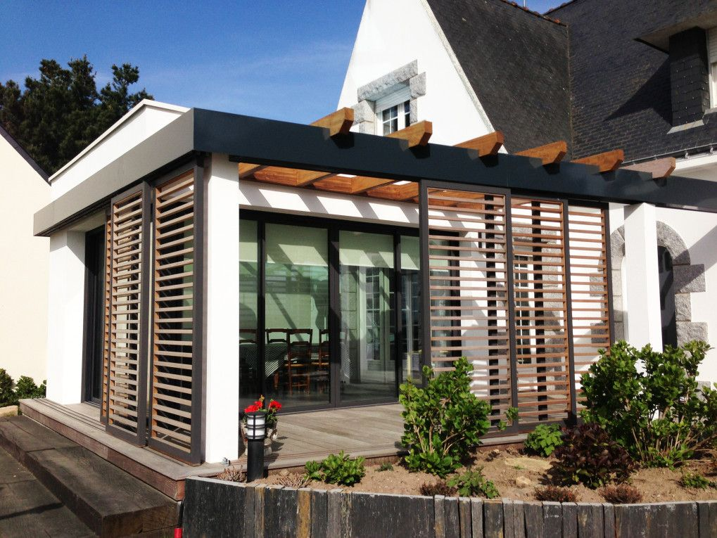Extrêmement Album - Maison I - Extension véranda et rénovation d'une maison  ER59