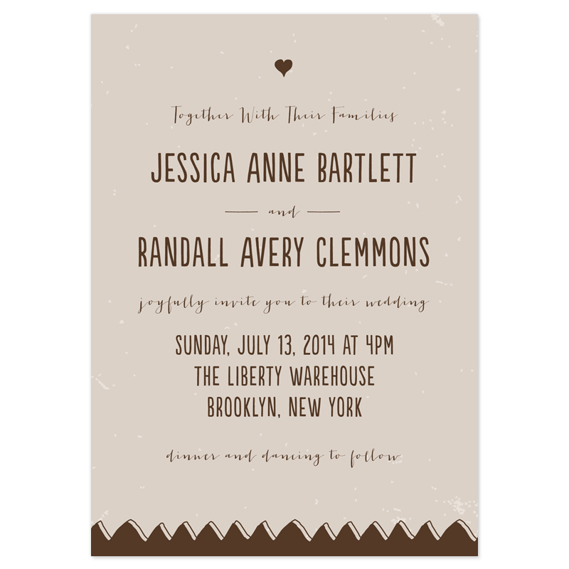 another more simple Wedding invitation wording examples