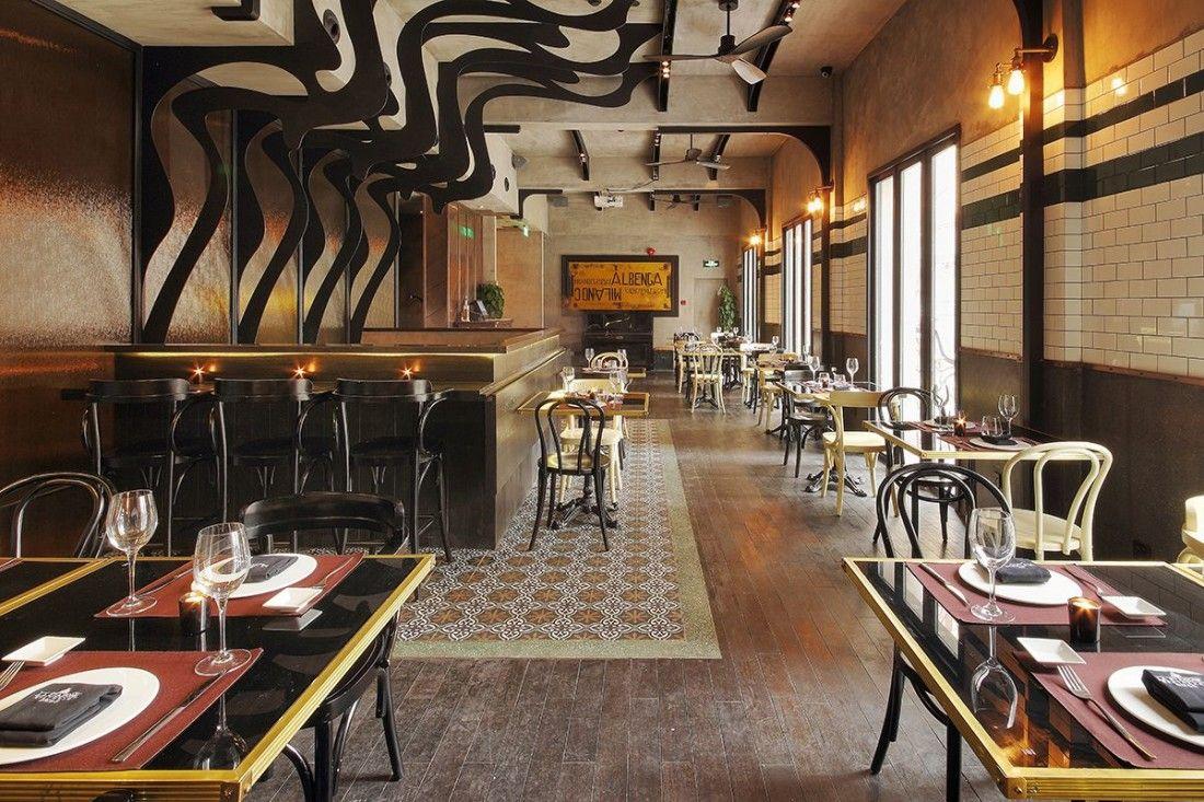 Quot la stazione italian restaurant in shanghai by
