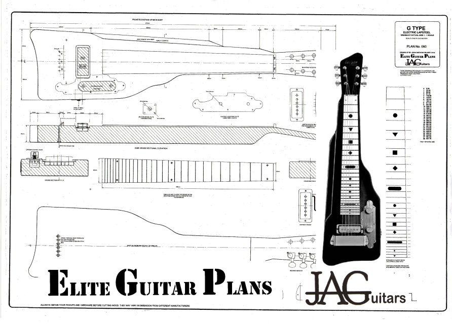 Lapsteel Plans John Anthony Guitars Amp Elite Guitar Plans
