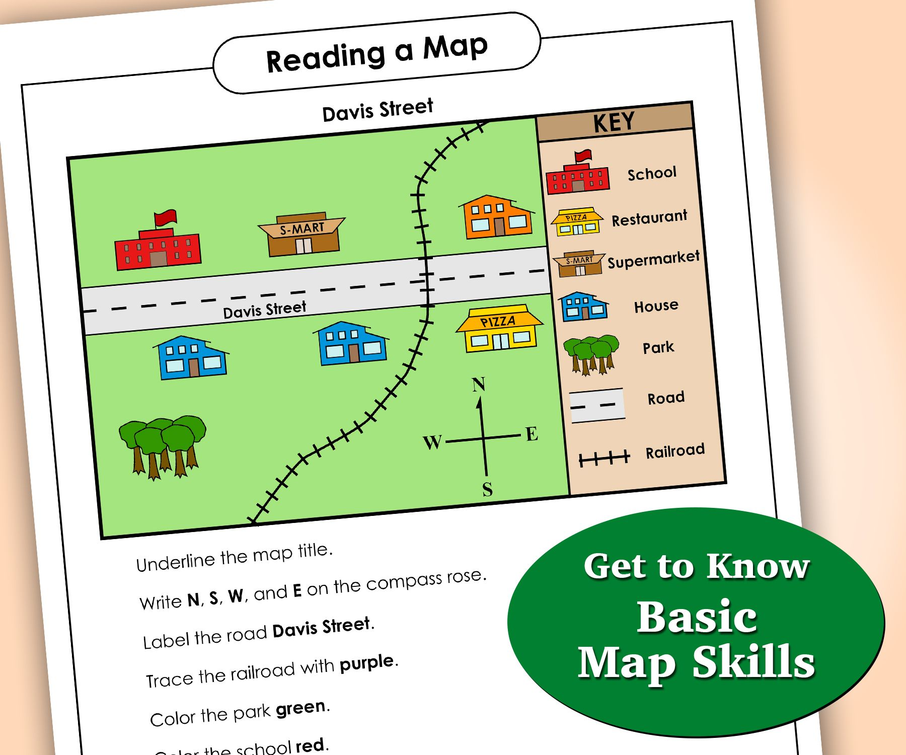 Get To Know Basic Map Skills In