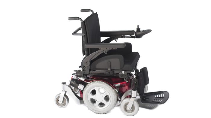 silla de ruedas electrica salsa m