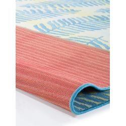 Photo of alfombra interior y exterior benuta Plus Artis Blue 80×165 cm – para balcón, terraza y jardínbenuta.de