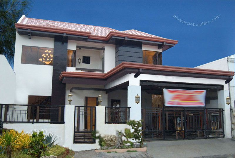 Myhaybol 0030 modern house style philippines ideas for for House garage design philippines