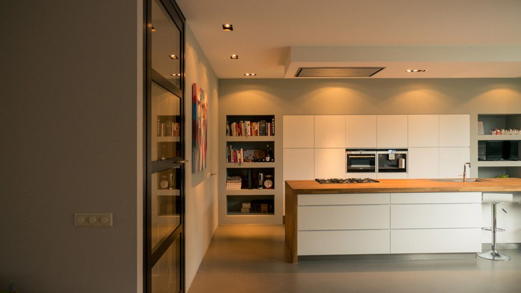 Verbouwing woonhuis breda met grote woonkeuken kvik keuken