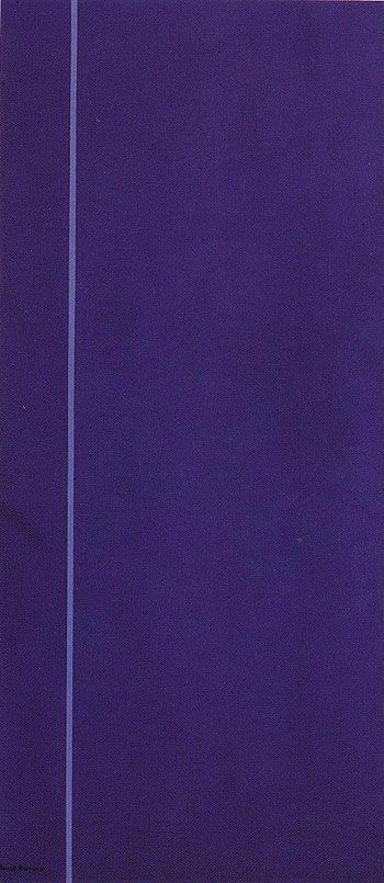 Queen of the Night - 1967 Barnett Newman