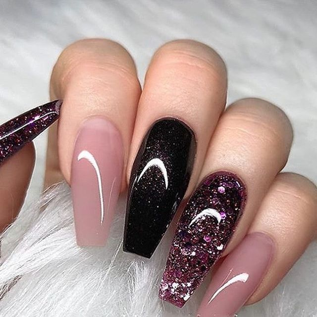 39 Chic Fall Nails Art Designs Ideas Hair And Beauty Eye Makeup Ideas To Try Nail Art Design Id Coffin Nails Designs Fall Nail Art Designs Nail Art Wedding