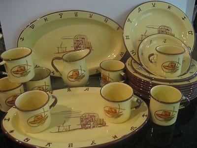Monterrey Western Ware Enameled tableware