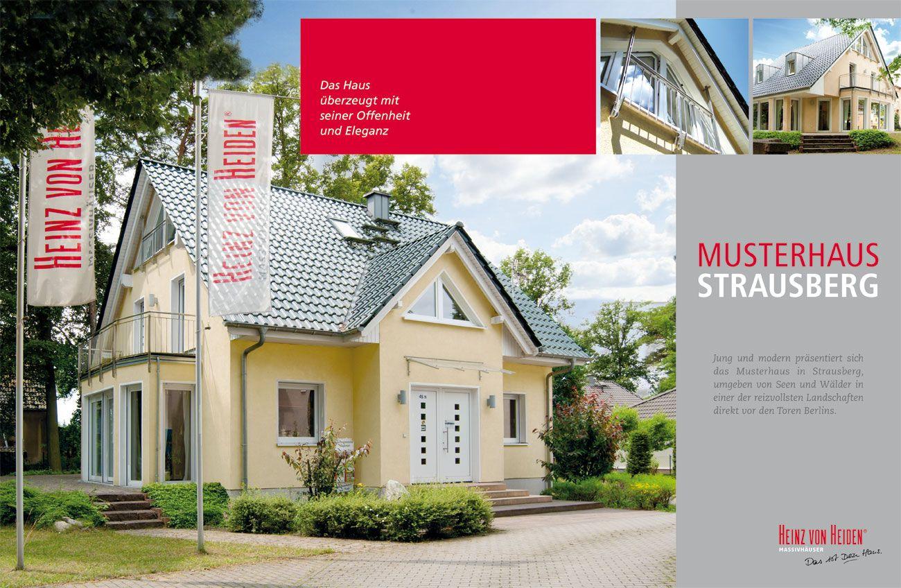 Heinz von Heiden Massivhäuser Musterhaus Strausberg