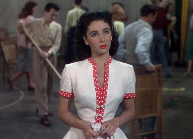Elizabeth Taylor in A date with Judy, 1948