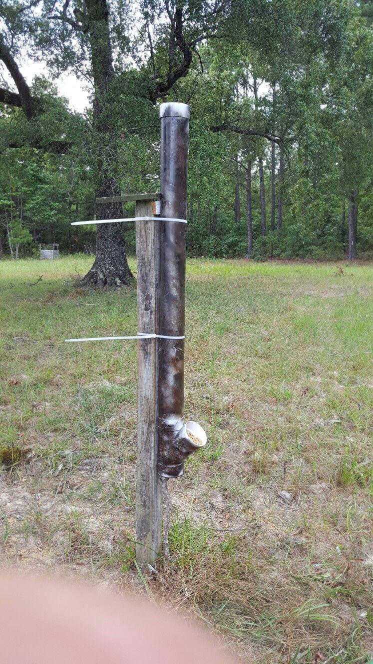 diy deer feeder hanger