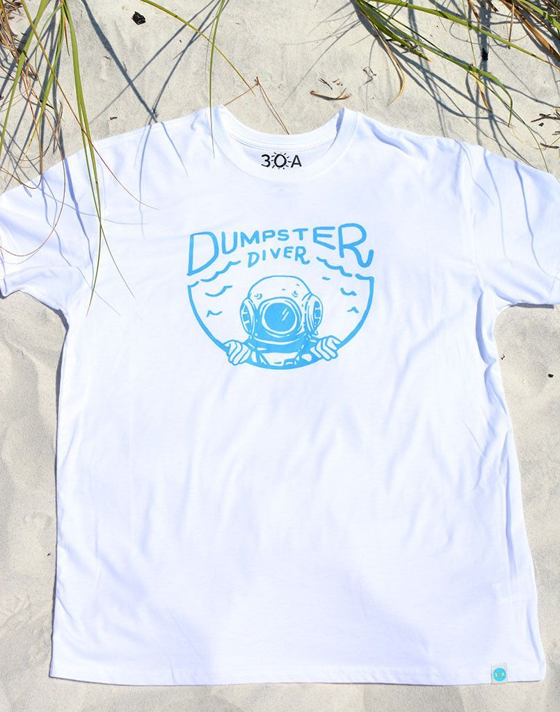 30A Dumpster Diver Recycled Tee Recycled shirts, Recycle