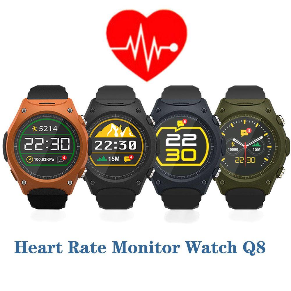 Pulsmesser Uhr Q8 für Iphone Samsung HTC Huawei Xiaomi Android Telefon Sport Smartwatch Armbanduhr mit g-sensor kompass //Price: $US $107.99 & FREE Shipping //     #smartuhren