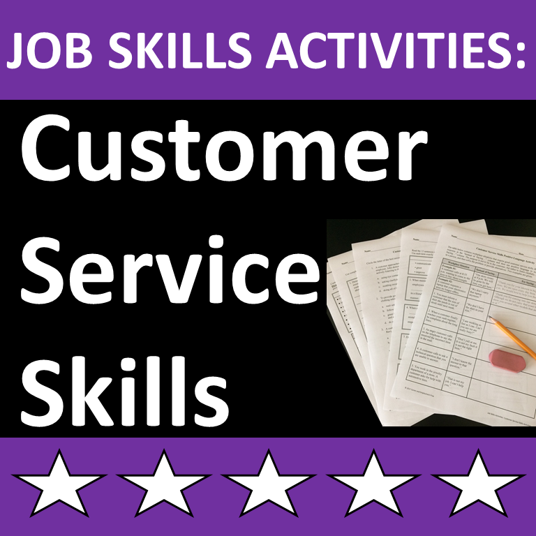 Customer Service Skills Lesson For High School Or Cte Students In 2021 Skills Activities Work Skills Activities