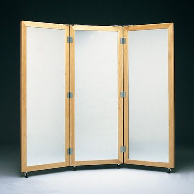 Connect 3 Full Length Mirrors Together To Make A Way Mirror