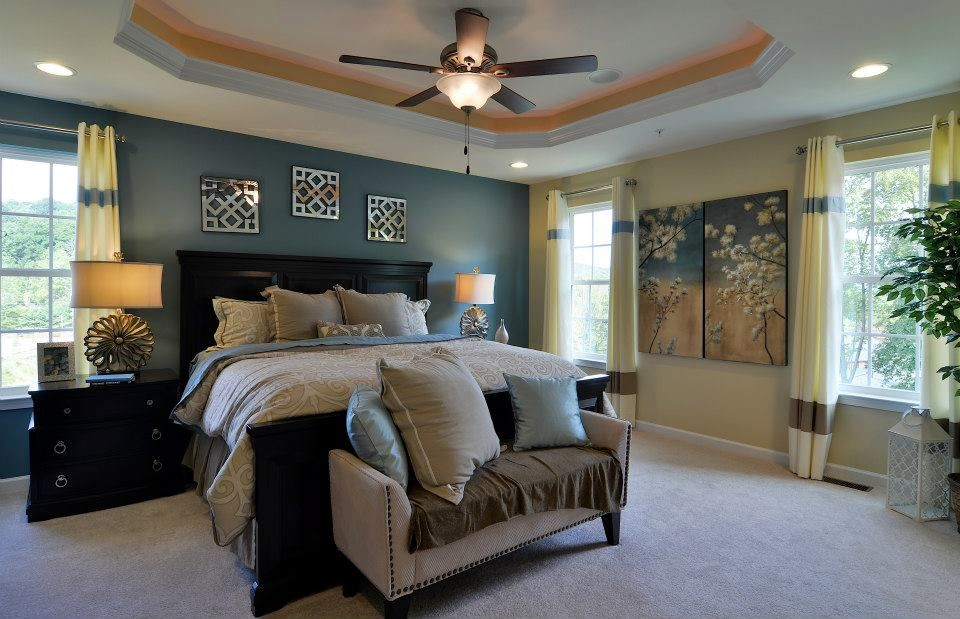 Wexford By Ryan Homes Master Bedroom With 4 Foot Extension Dream Home Pinterest Master