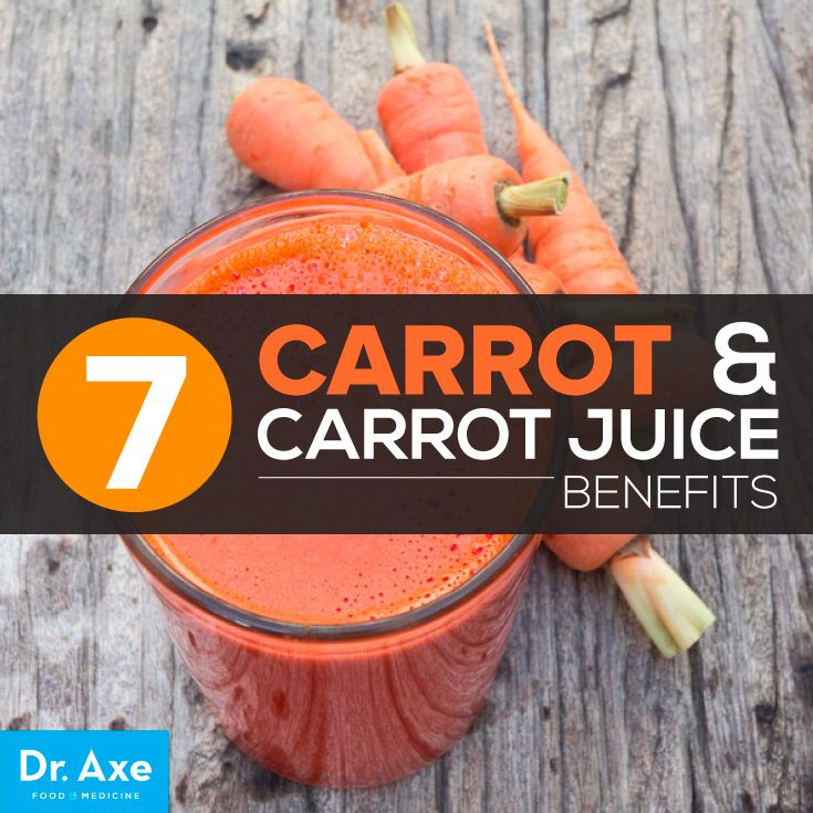 7 Carrot and Carrot Juice Benefits http://www.draxe.com #health #holistic #natural
