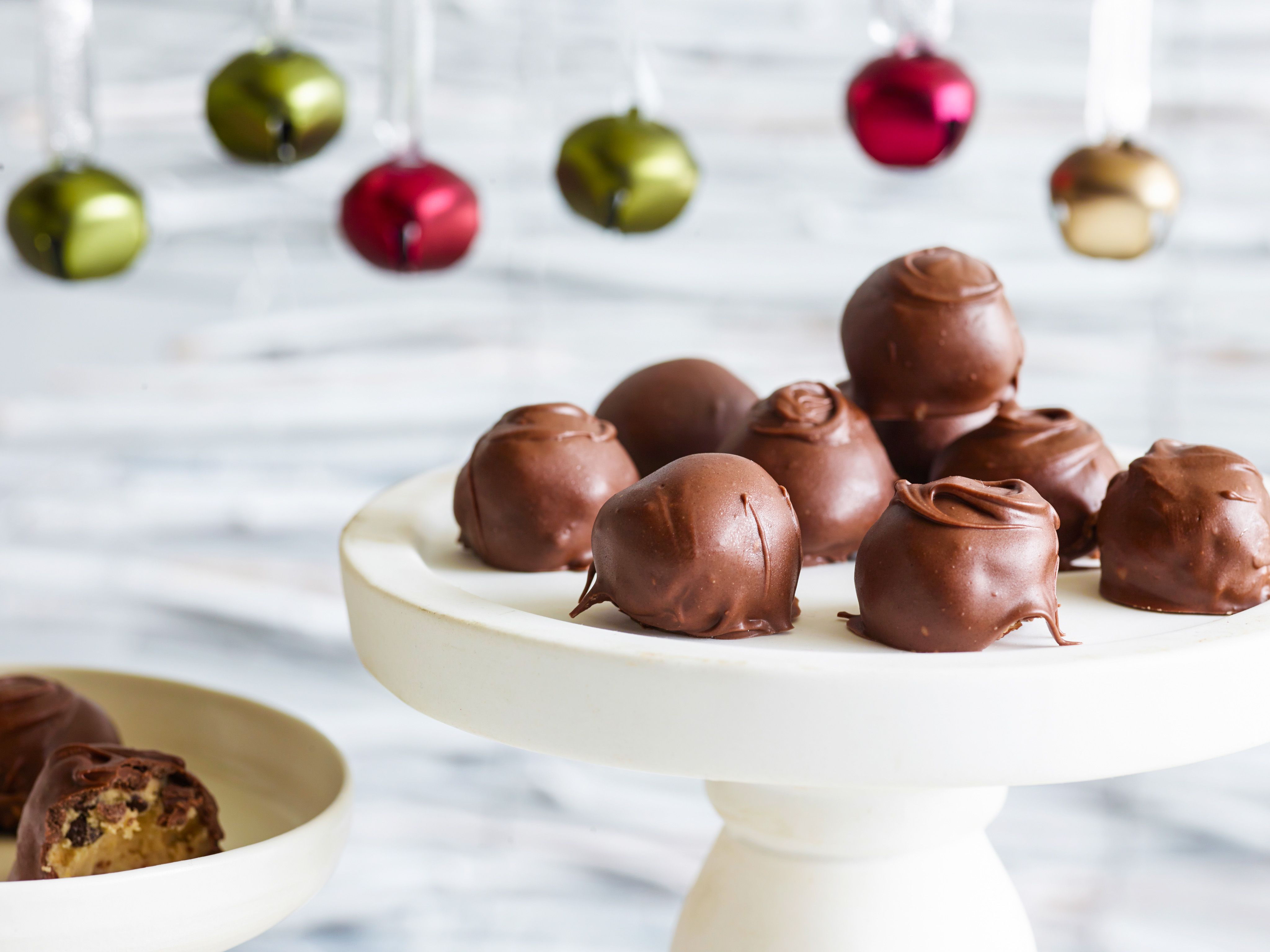 Chocolate chip cookie dough balls recipe dough balls trisha bite size chocolate chip cookie dough balls recipe trisha yearwood food network forumfinder Image collections