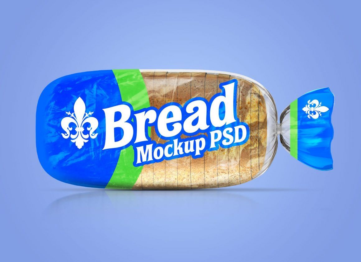 Download Free Transparent Bread Packaging Mockup Psd Bread Packaging Packaging Mockup Mockup Psd