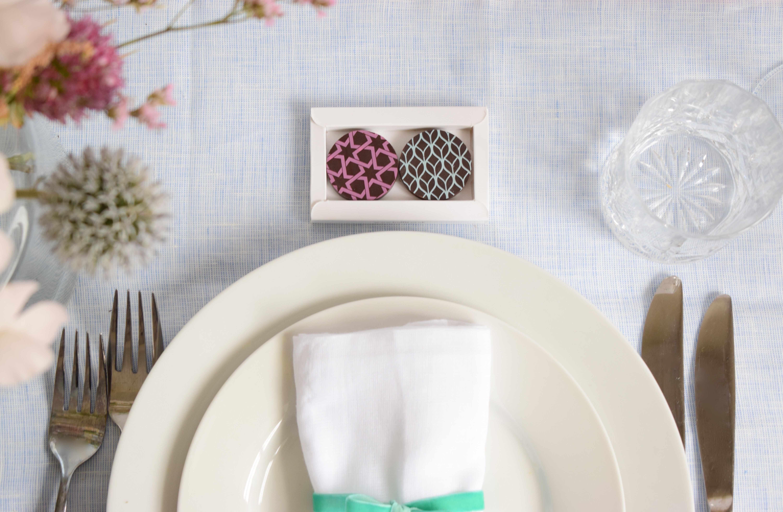 Beautiful chocolate wedding favours by Troffle | Beautiful chocolate ...