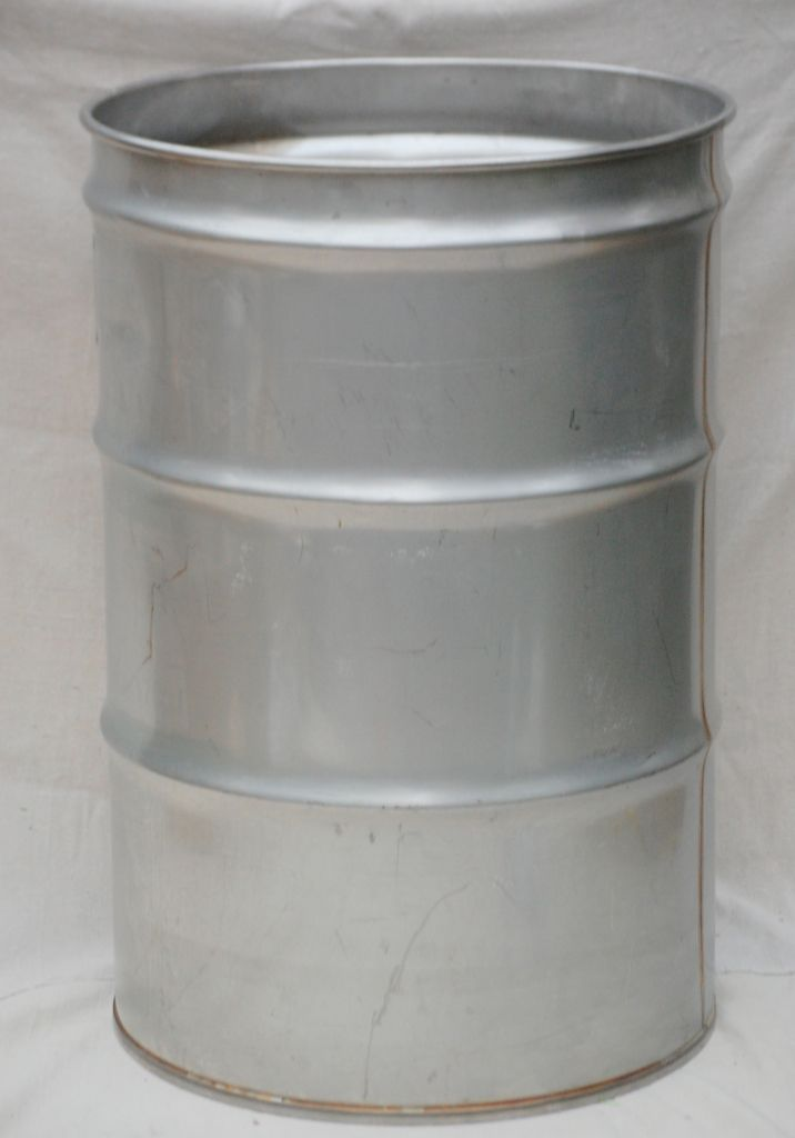 When we were younger we didn 39 t have money for a pool so for Metal 55 gallon drum