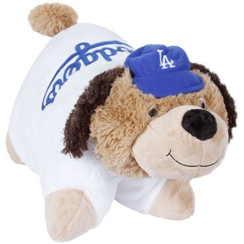 mlb los angeles dodgers pillow pet http shop sportsfanplayground com 7471 374241011 b004v50qok mlb los angeles dodgers pillow pet html
