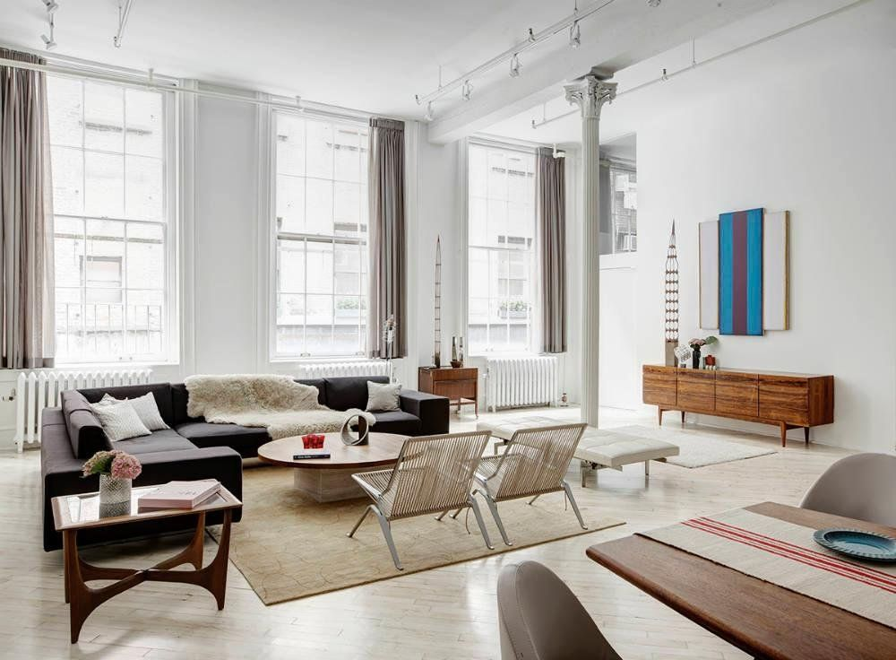 Elegant New York Loft Decor