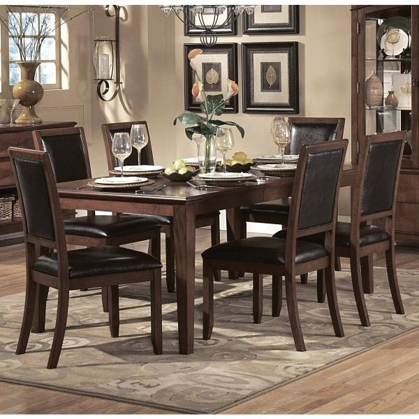 Avalon Casual Cherry Wood Rectangle Dining Table  Home Elegance Gorgeous Cherry Wood Dining Room Set Inspiration Design