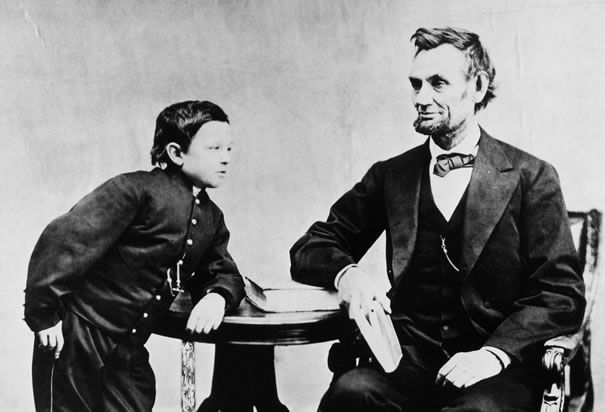 or /'Tad/' New 5x7 Photo President Abraham Lincoln with his son Thomas