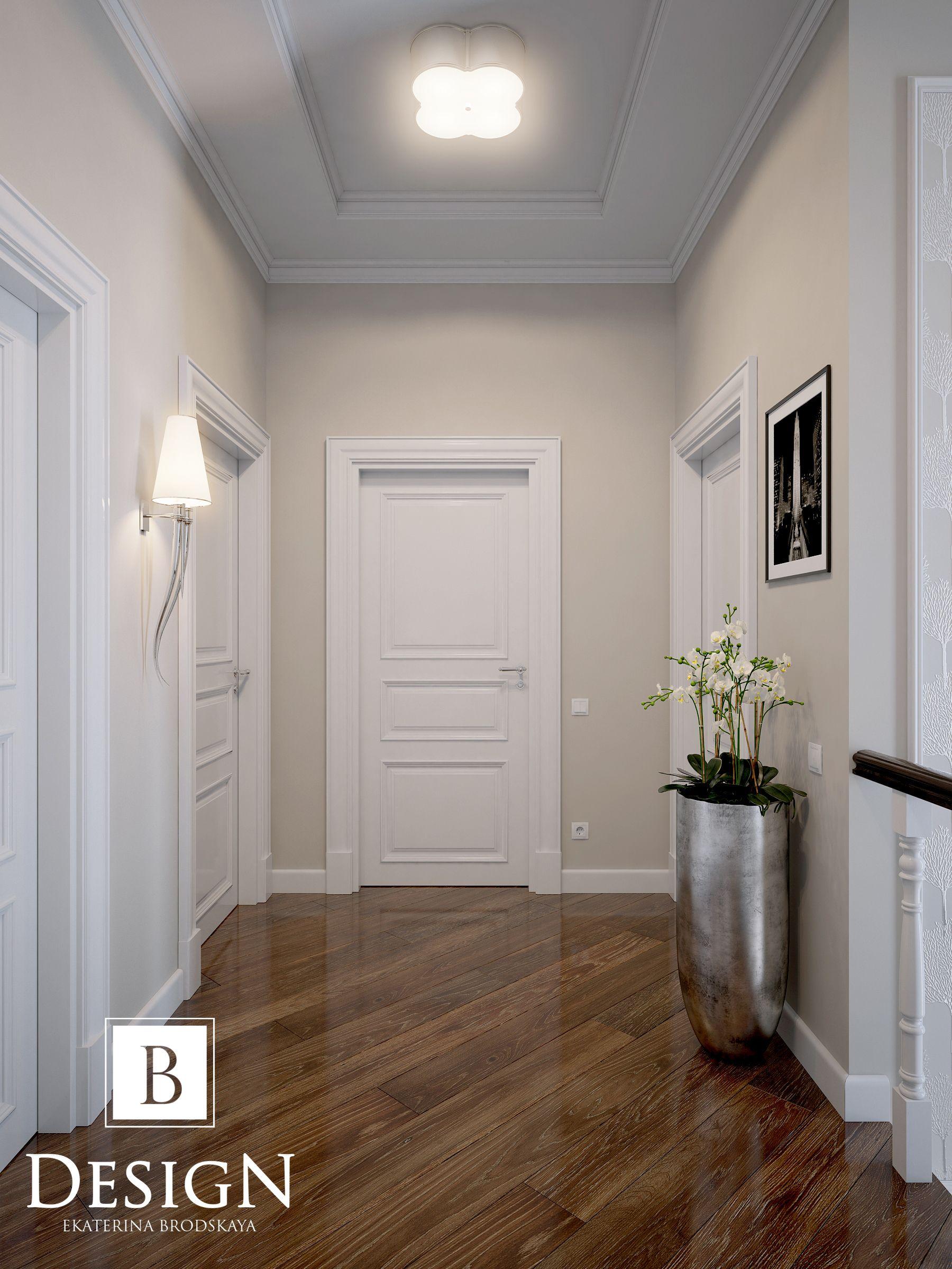 Narrow hallway colours  Цвет стен Укладка  Идеи для дома  Pinterest  Interiors Corridor