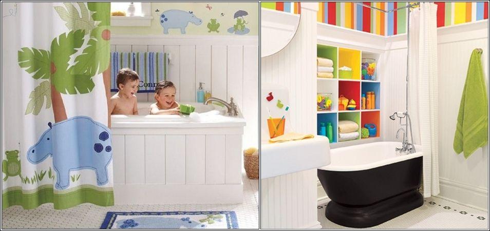 Salle de bains colorée salle de bain Pinterest Corian - salle de bains enfants