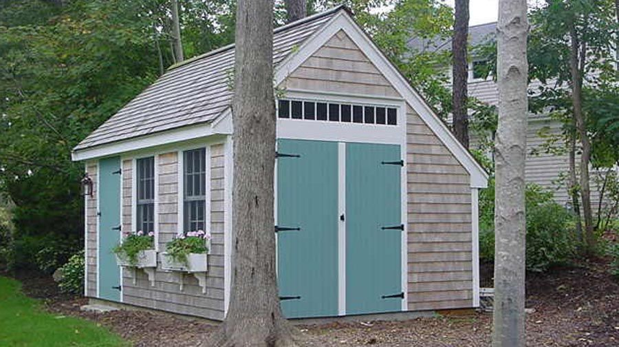 Love These Little Storage Sheds So Cute Backyard Sheds 400 x 300