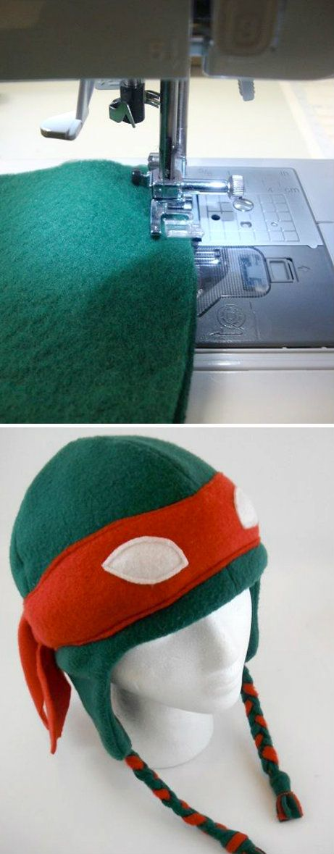Ninja Turtle Hat | Fabrics & Threads | Pinterest | Kostüm, Nähen für ...