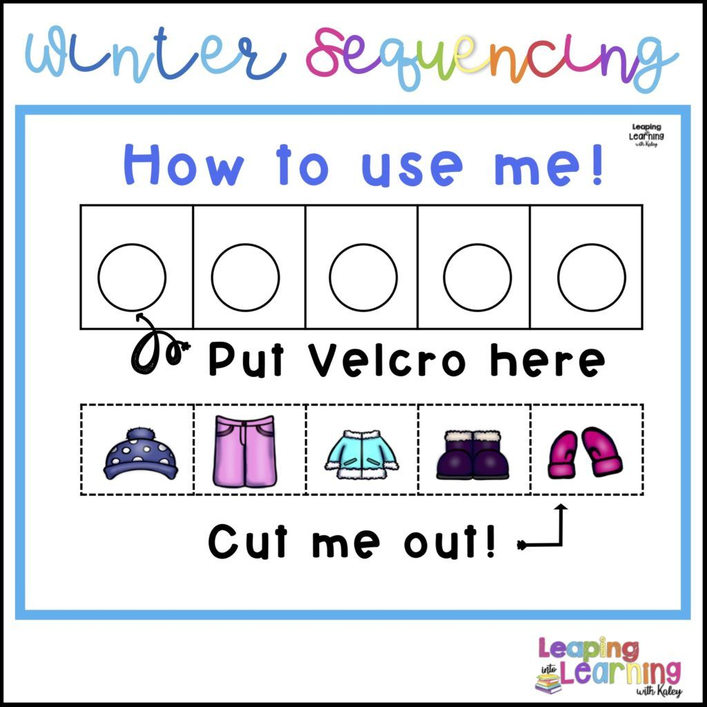Clothing Readiness Skills For Kindergarten Winter